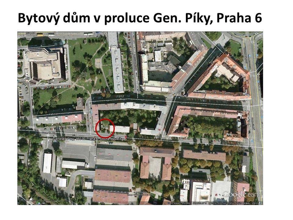 Bytový dům v proluce Gen. Píky, Praha 6