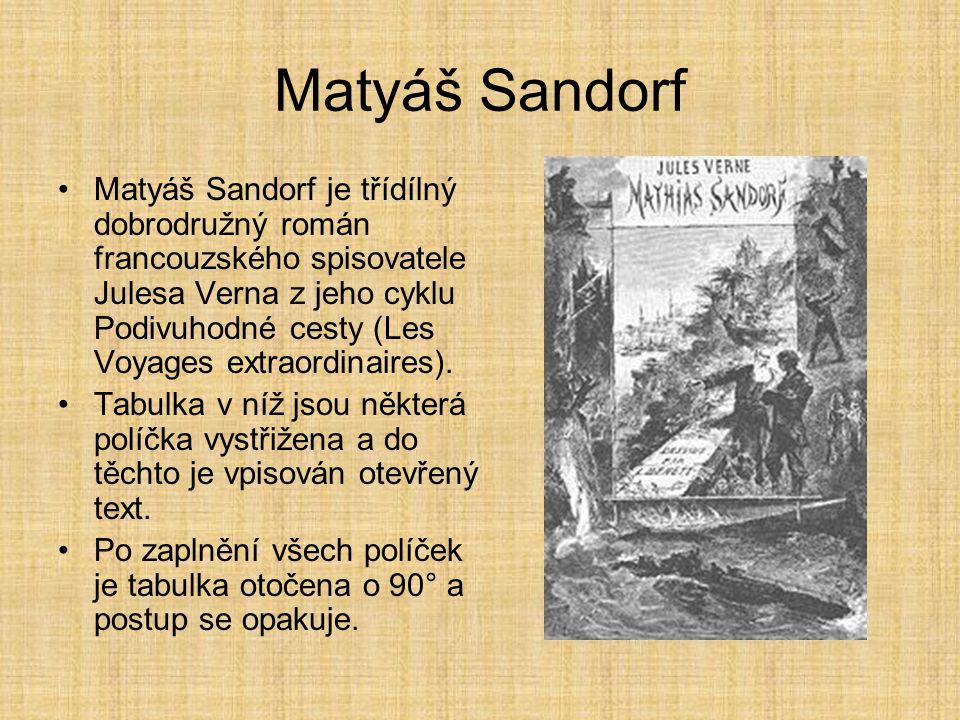 Matyáš Sandorf