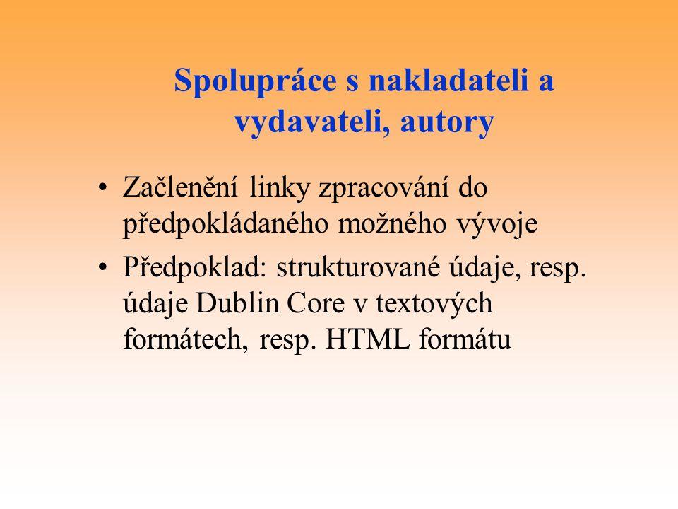 Spolupráce s nakladateli a vydavateli, autory