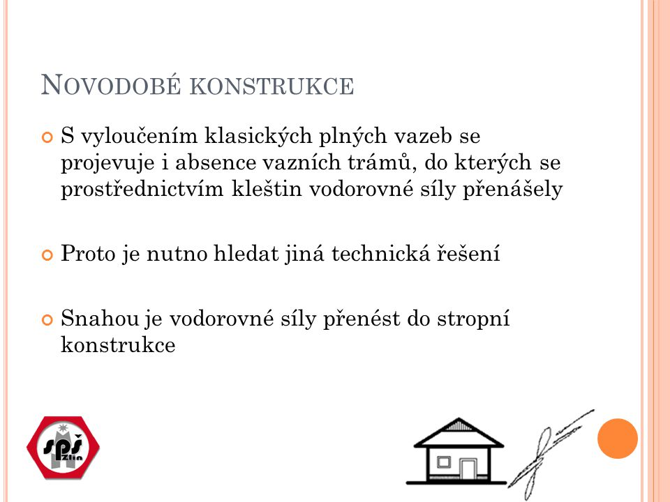 Novodobé konstrukce