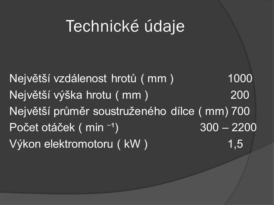 Technické údaje