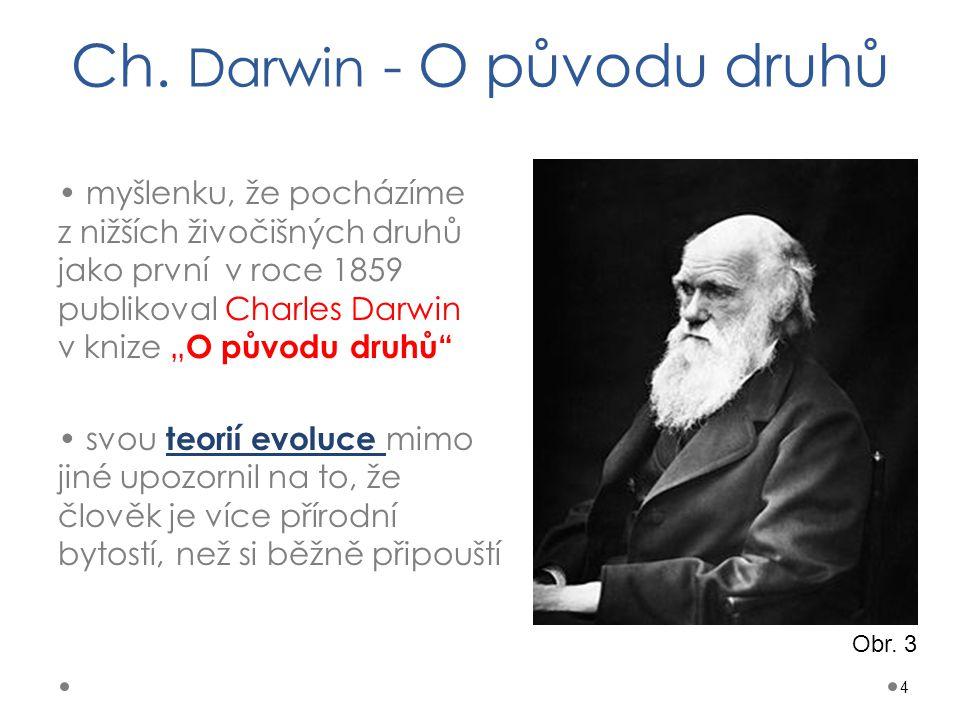 Ch. Darwin - O původu druhů