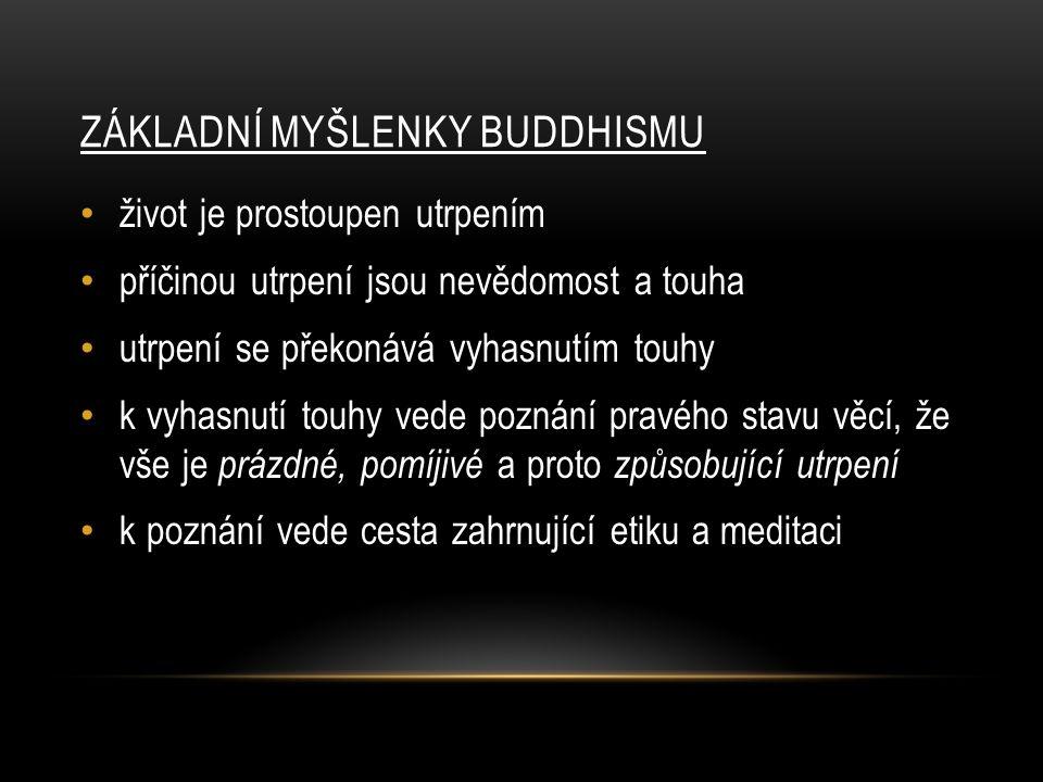 Základní myšlenky buddhismu