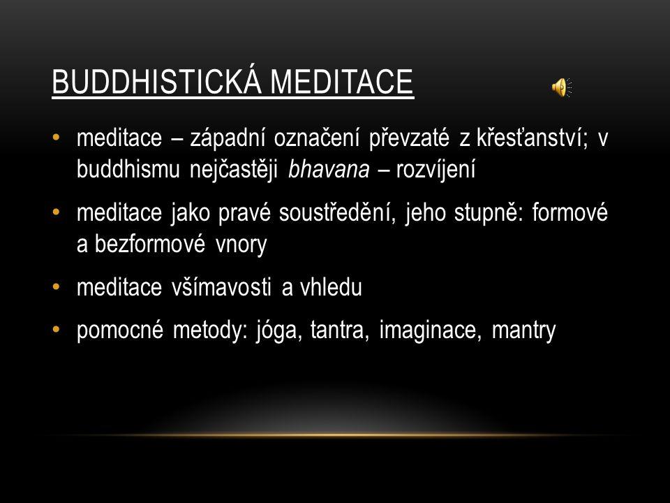 Buddhistická meditace