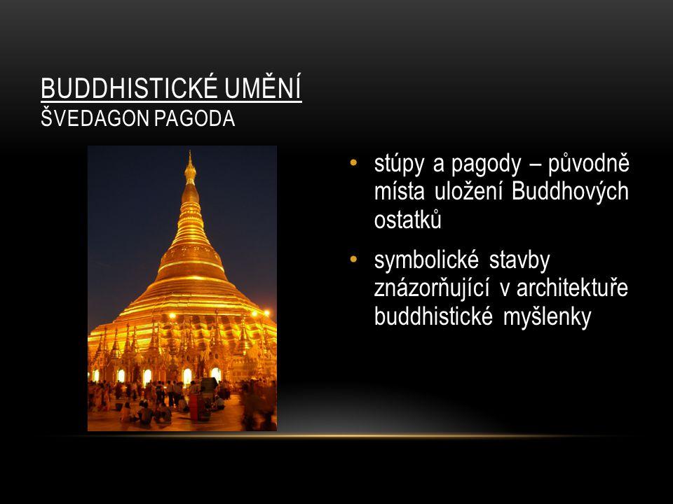 Buddhistické umění Švedagon pagoda
