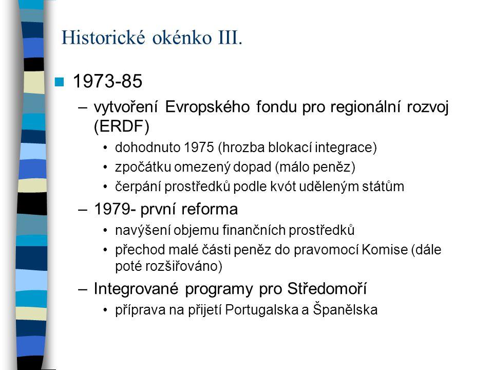 Historické okénko III. 1973-85