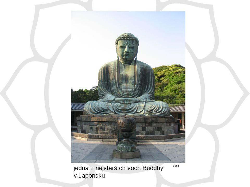 jedna z nejstarších soch Buddhy v Japonsku