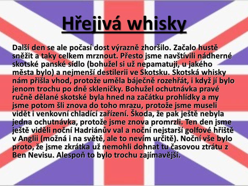Hřejivá whisky