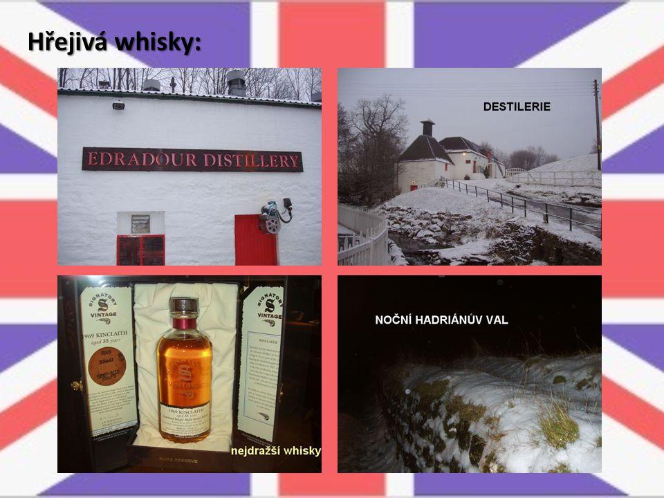 Hřejivá whisky: