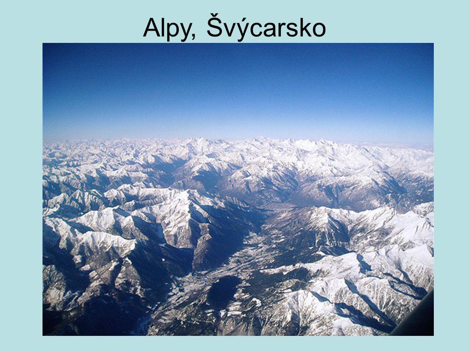 Alpy, Švýcarsko