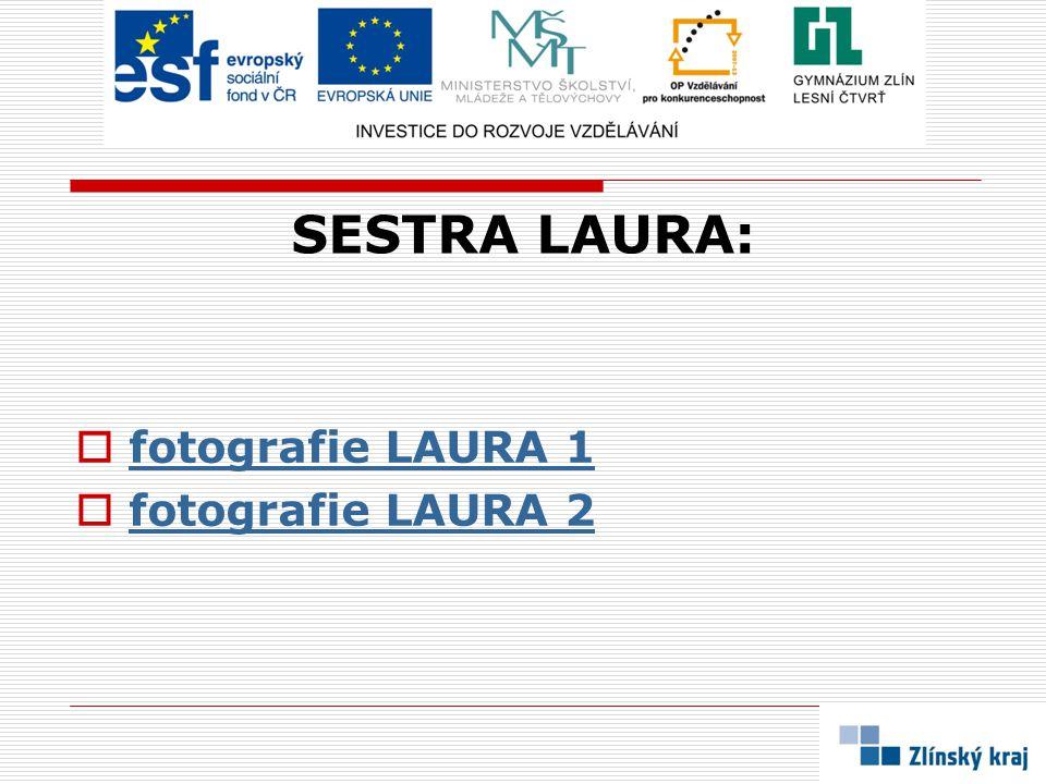 SESTRA LAURA: fotografie LAURA 1 fotografie LAURA 2
