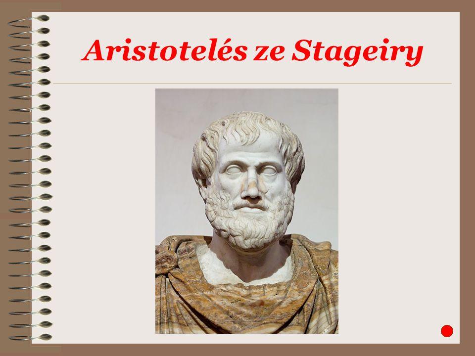 Aristotelés ze Stageiry
