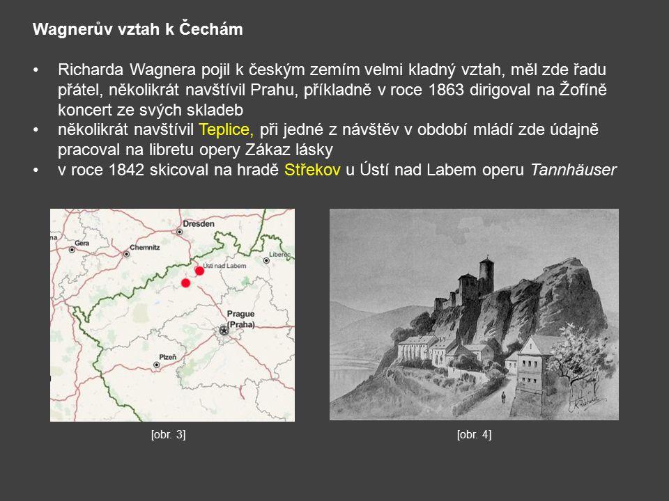 Wagnerův vztah k Čechám