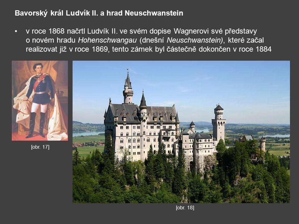 Bavorský král Ludvík II. a hrad Neuschwanstein