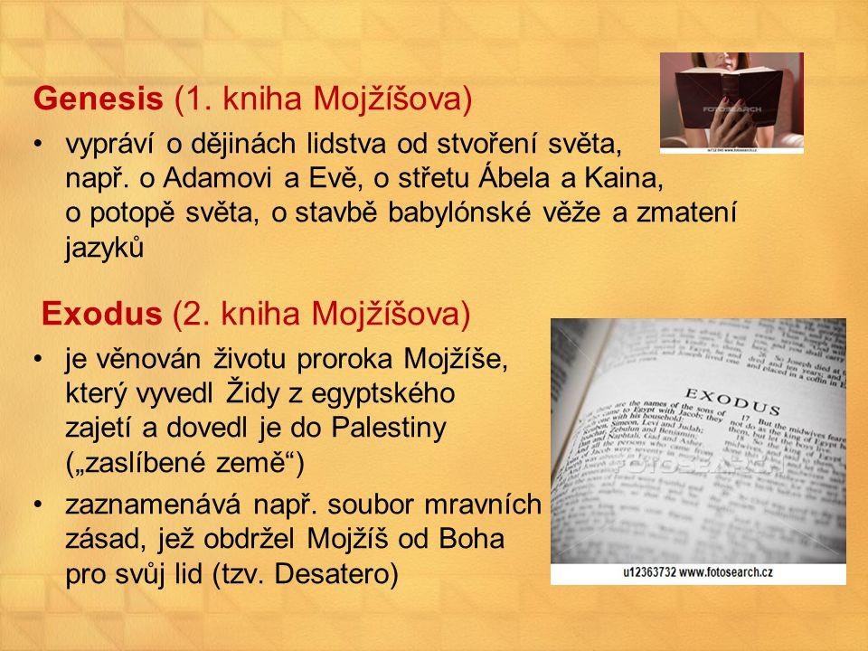 Genesis (1. kniha Mojžíšova)