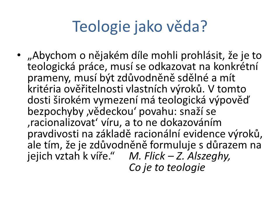 Teologie jako věda