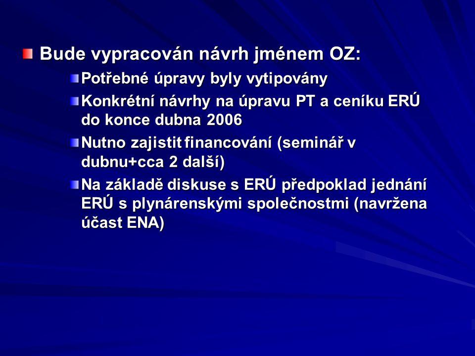 Bude vypracován návrh jménem OZ:
