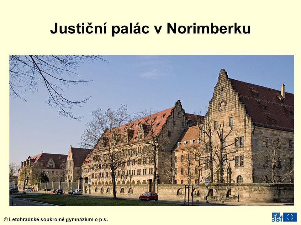 Justiční palác v Norimberku