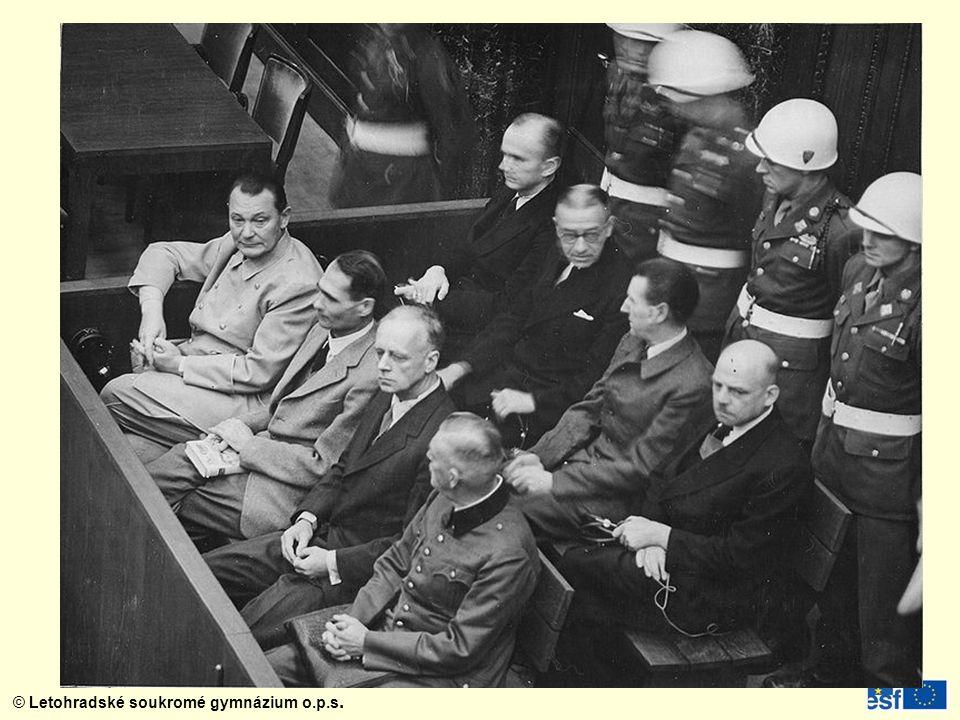 Trest smrti Martin Bormann – vůdcův tajemník (souzen v nepřítomnosti)