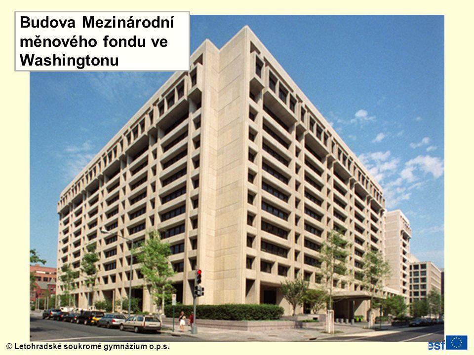 Budova Mezinárodní měnového fondu ve Washingtonu
