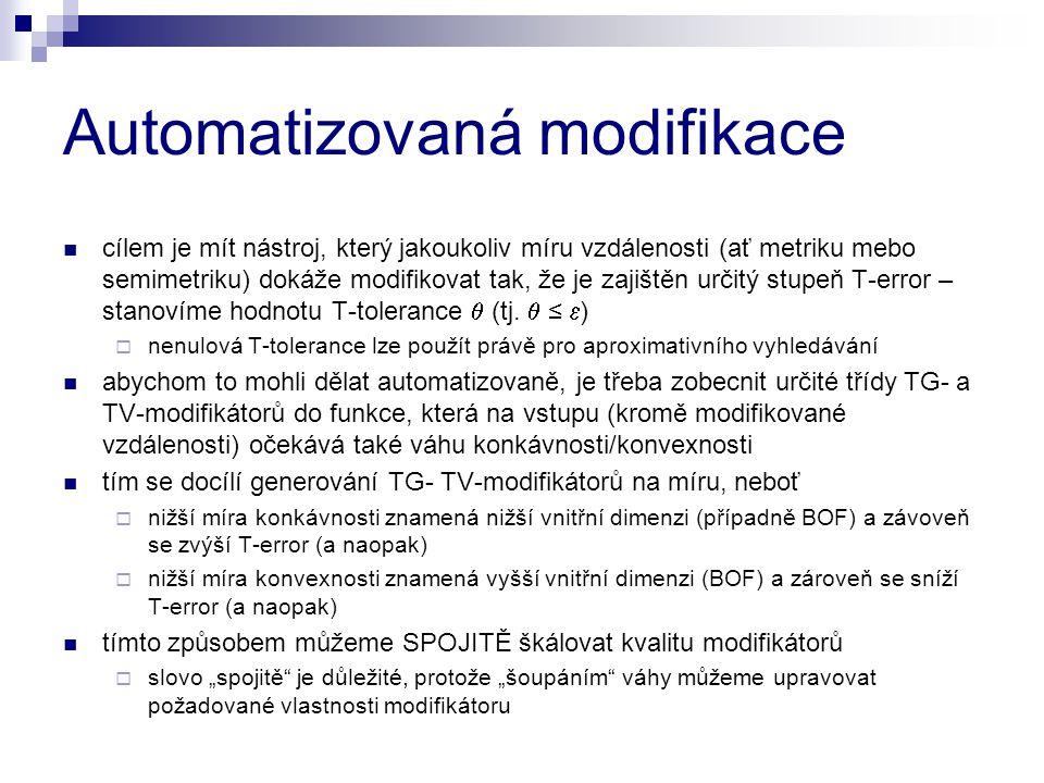 Automatizovaná modifikace