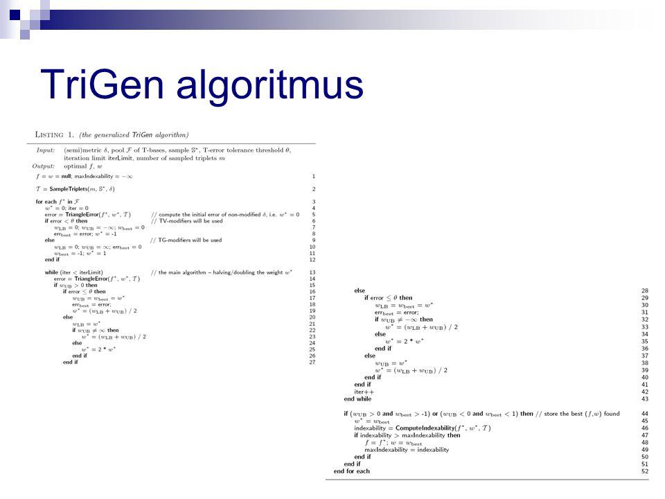 TriGen algoritmus