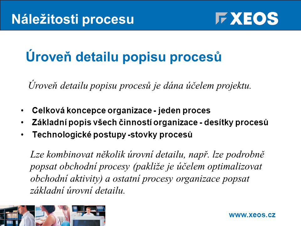 Úroveň detailu popisu procesů