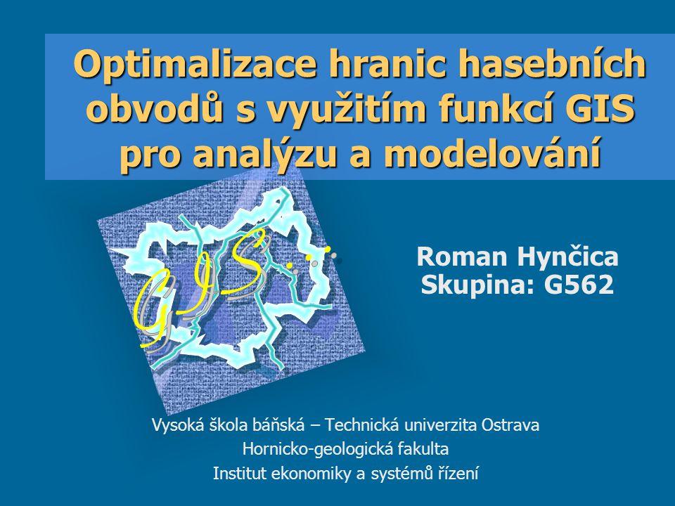 Optimalizace hranic hasebních obvodů s využitím funkcí GIS pro analýzu a modelování