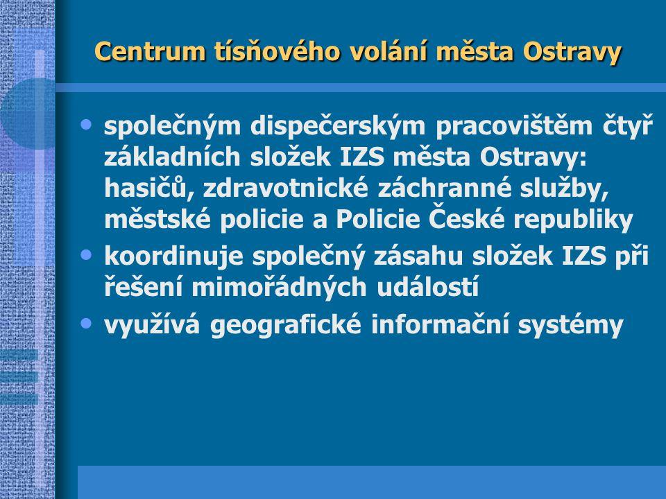 Centrum tísňového volání města Ostravy