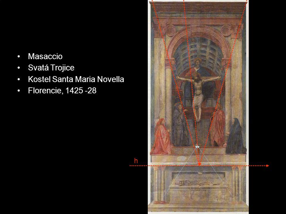 Kostel Santa Maria Novella Florencie, 1425 -28