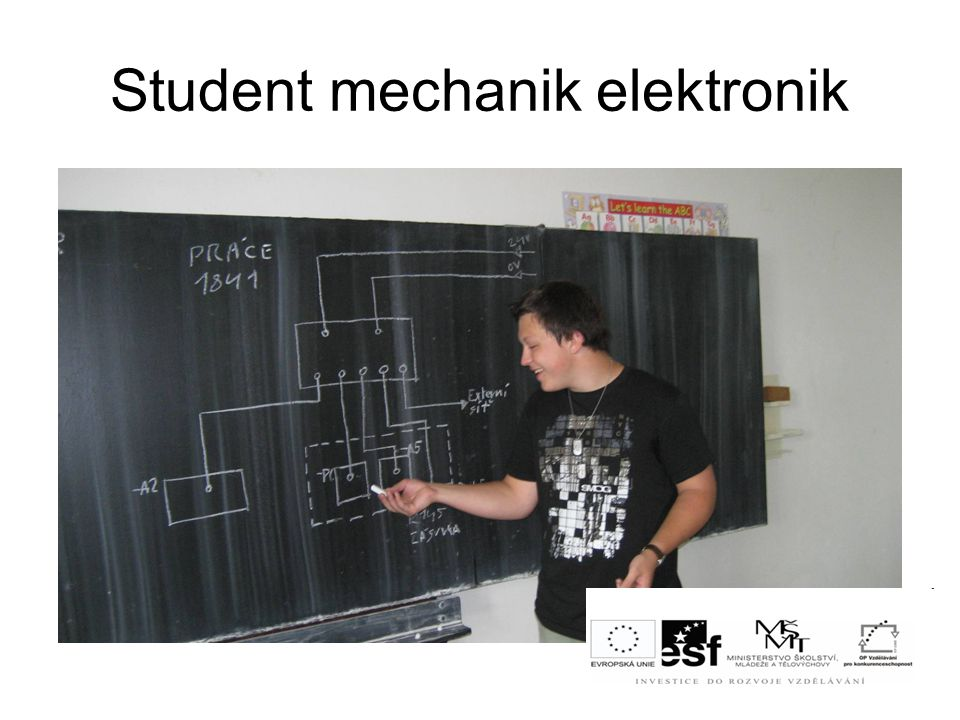 Student mechanik elektronik