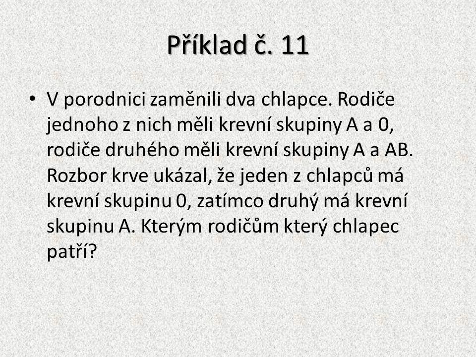 Příklad č. 11