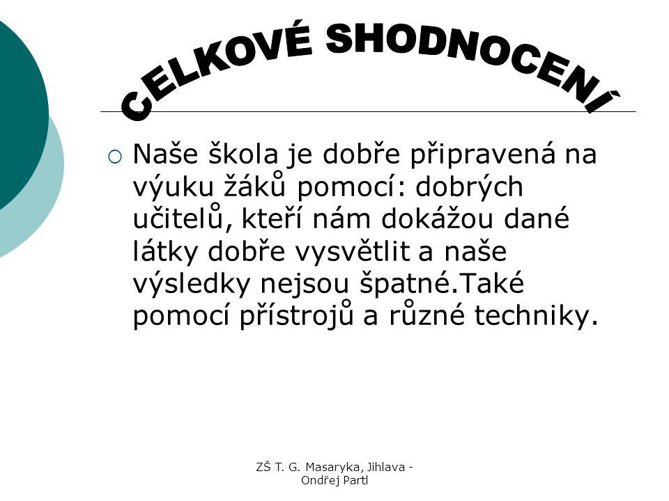 ZŠ T. G. Masaryka, Jihlava - Ondřej Partl