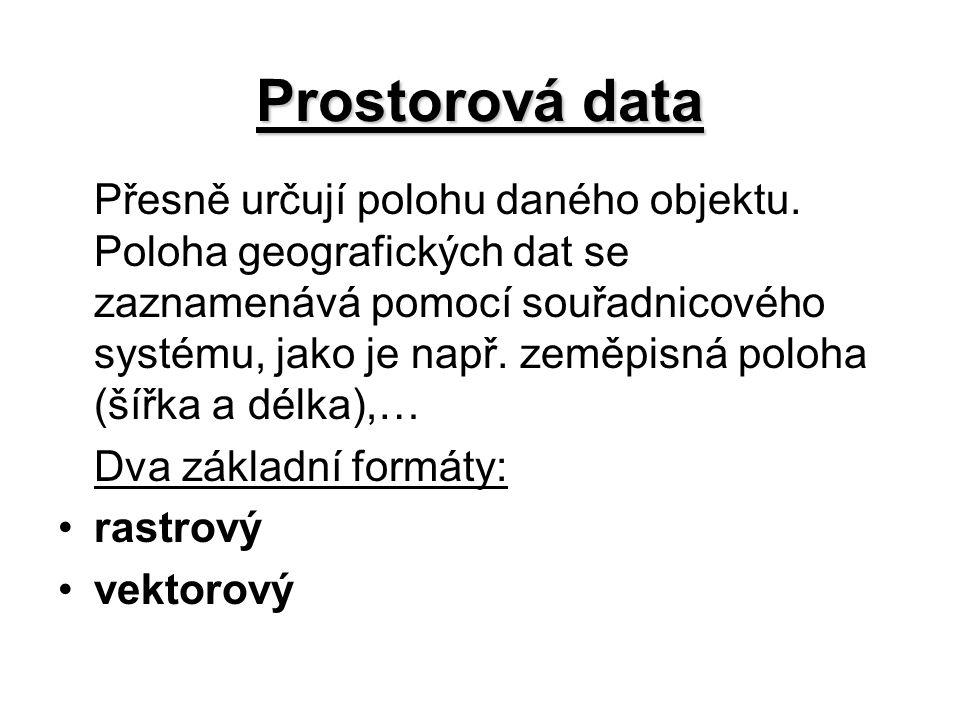 Prostorová data