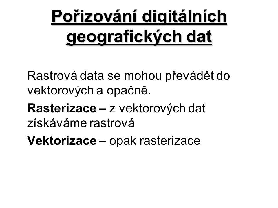 Pořizování digitálních geografických dat