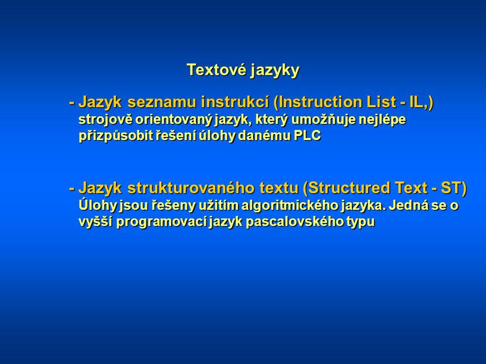 Textové jazyky