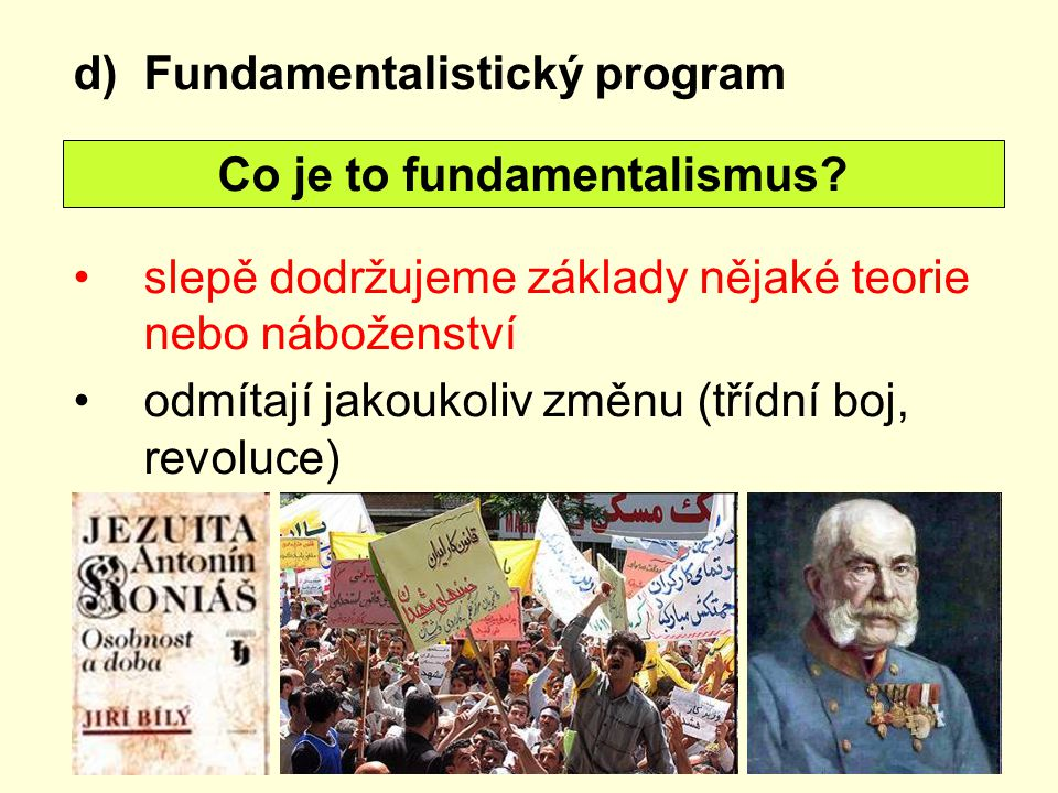 Co je to fundamentalismus