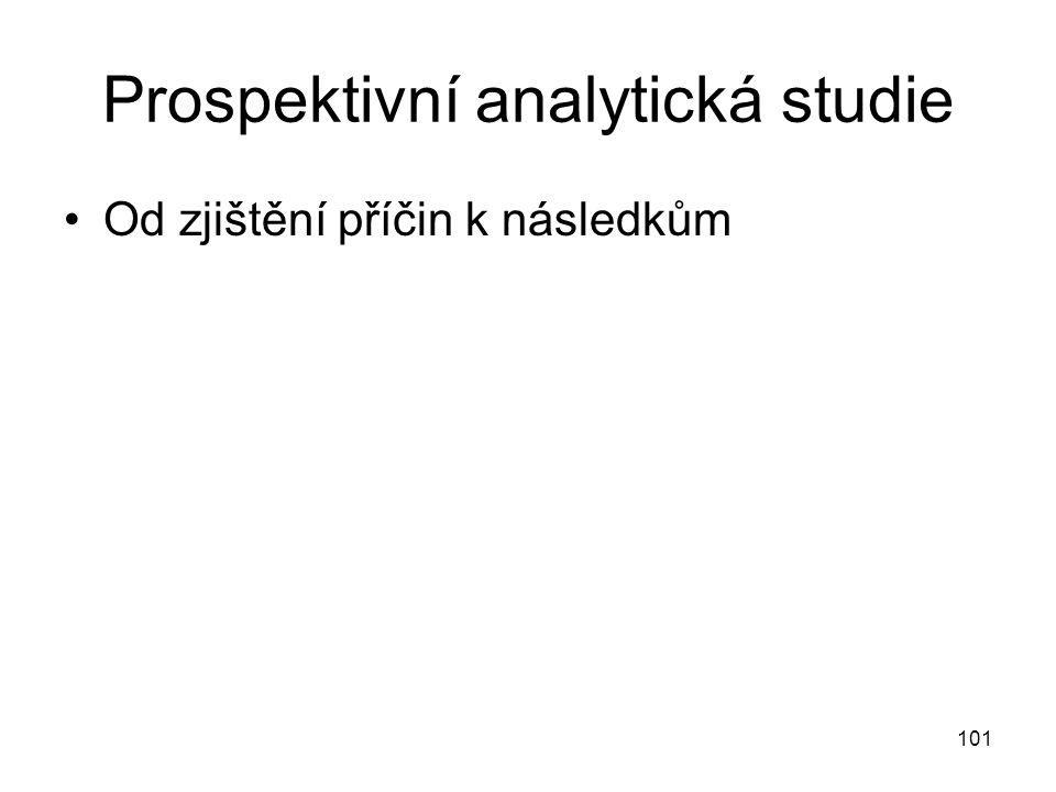 Prospektivní analytická studie