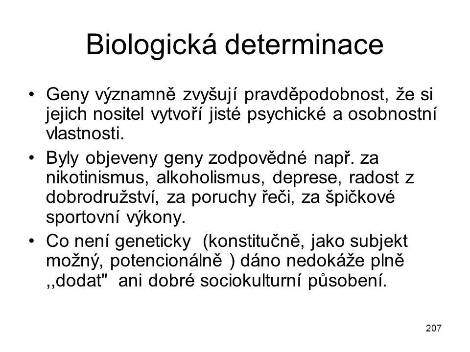 Biologická determinace