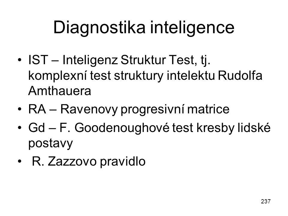 Diagnostika inteligence