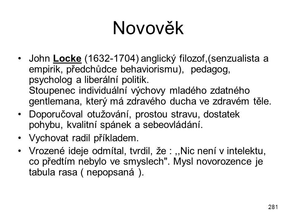 Novověk