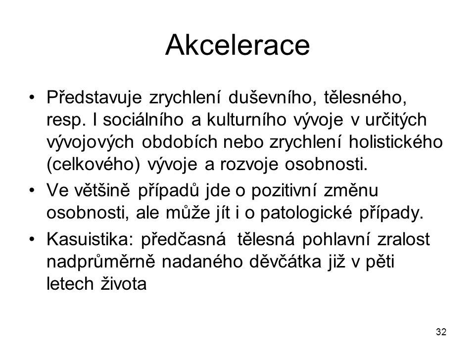 Akcelerace