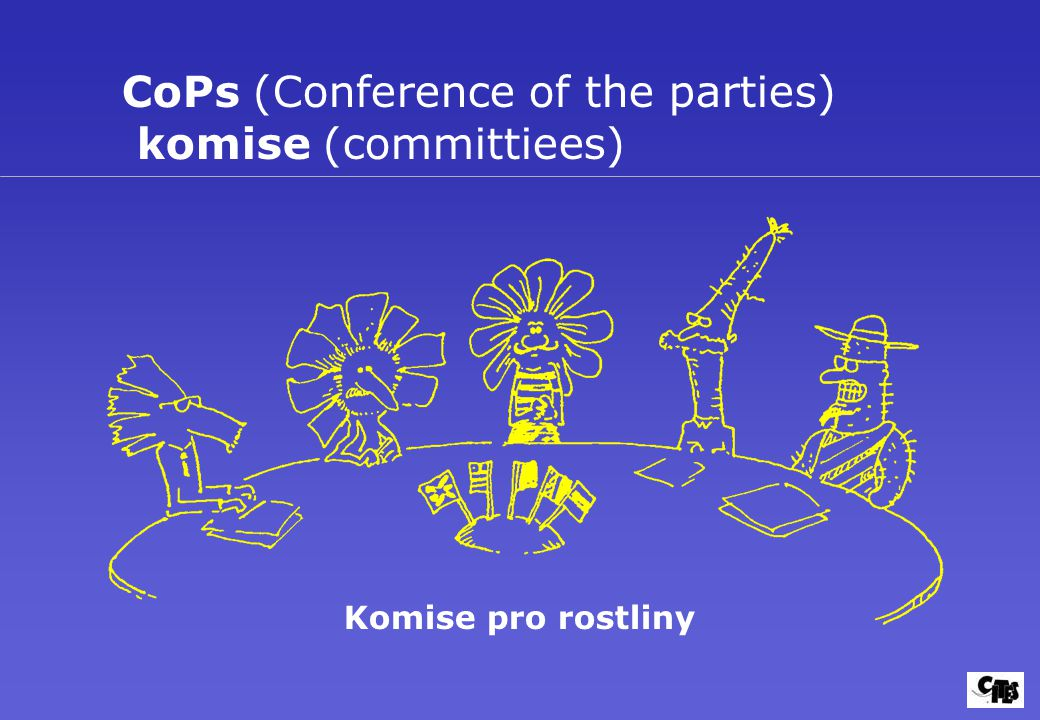 CoPs (Conference of the parties) komise (committiees)
