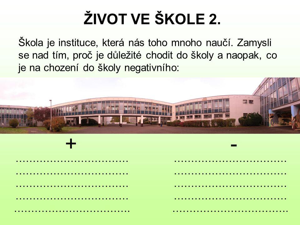 ŽIVOT VE ŠKOLE 2.
