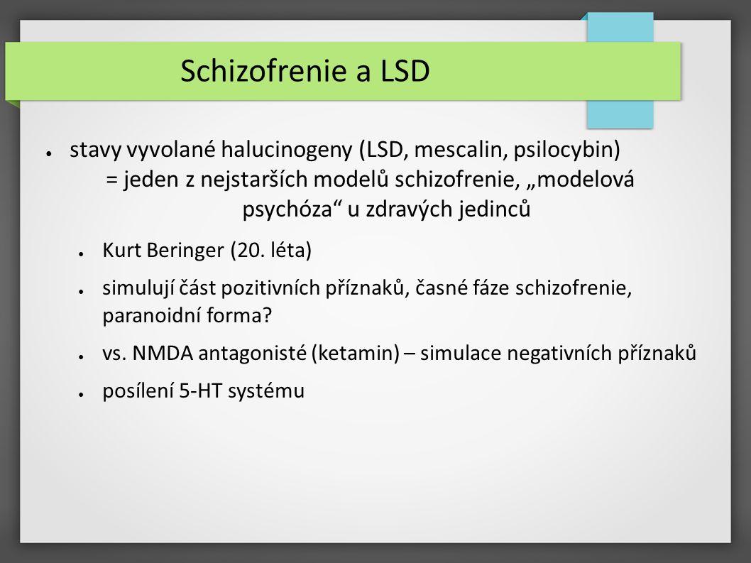 Schizofrenie a LSD