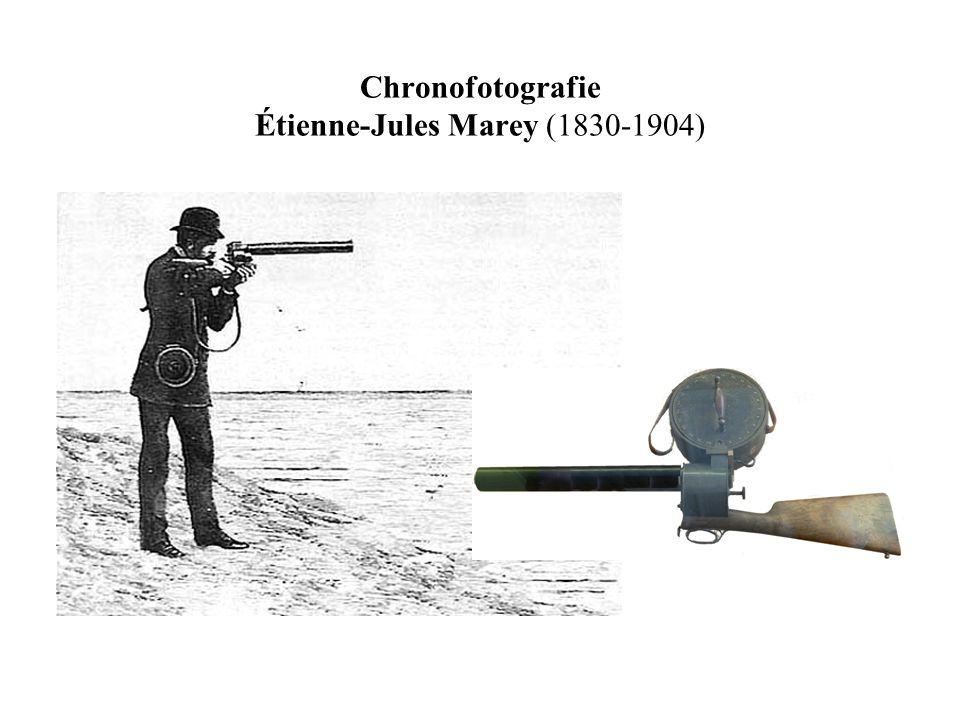 Chronofotografie Étienne-Jules Marey (1830-1904)