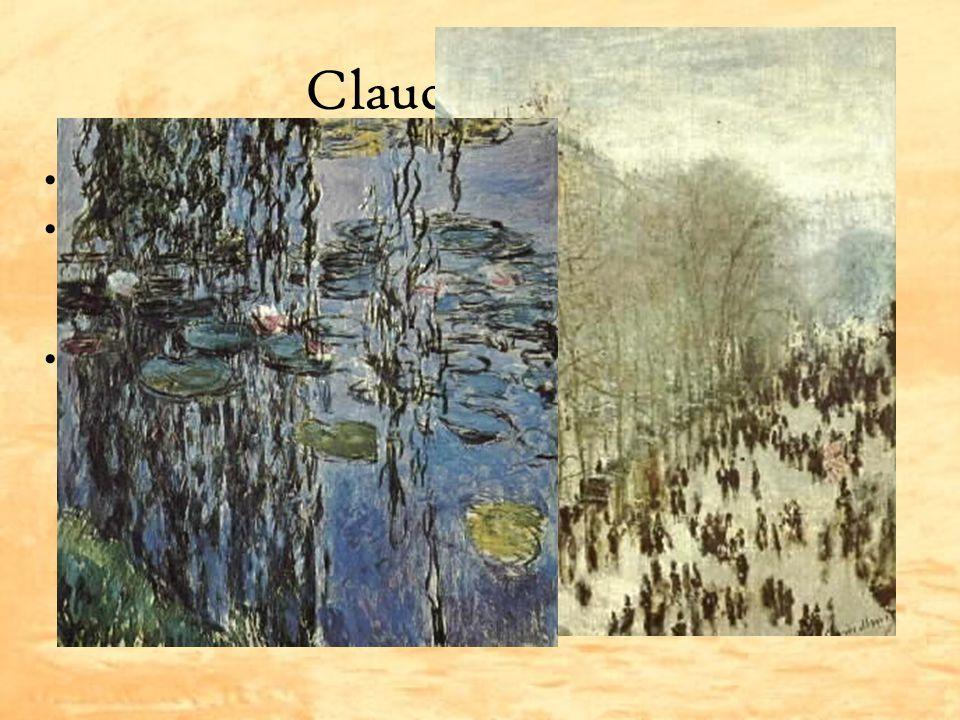 Claude Monet Zakladatel impresionismu