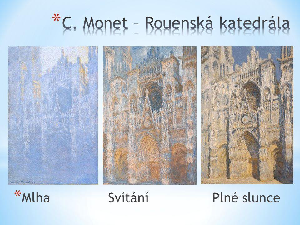 C. Monet – Rouenská katedrála
