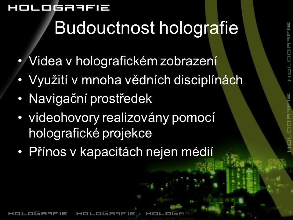 Budouctnost holografie
