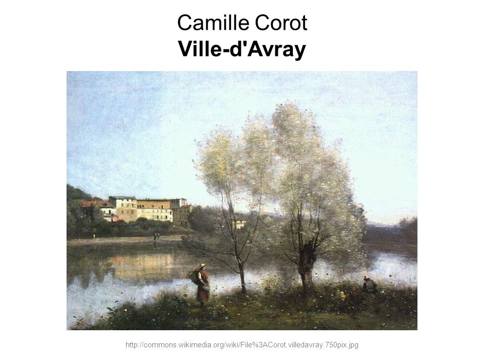 Camille Corot Ville-d Avray